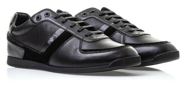 hugo boss footwear green stiven black trainer 8 for sale online ebay ebay