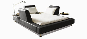 QUEEN LEATHER BED SET! - LIKE NEW!!! West Island Greater Montréal image 5