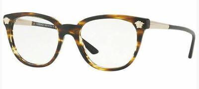 Authentic Versace Eyeglasses VE3242 5202 Havana Frames 52mm Rx-ABLE