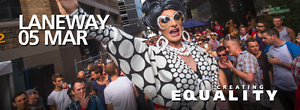 2 x SOLD OUT VIP Mardi Gras LANEWAY Party Tickets Glebe Inner Sydney Preview