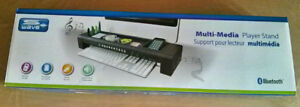 S-Wave - Bluetooth Multi-Media Player Stand -New