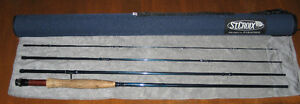 St Croix Reign 9'  6wt 4 piece fly rod with hard case.