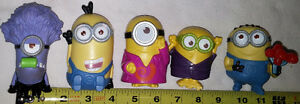 Qty 2 x 5 Minions Movie (Despicable Me) Figures Sets London Ontario image 1