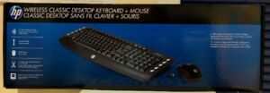 HP Keyboard Mouse combo (New, upopened)