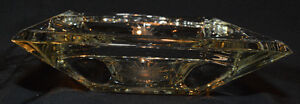Crystal candy/coffee table dish Kitchener / Waterloo Kitchener Area image 3