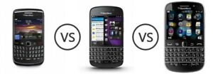 BLACKBERRY curve $29, q10 $59, z30 $69, leap $79, alcatel $29