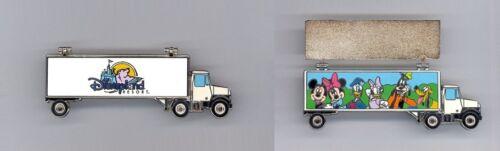 Disney Disneyland Resort Logo Truck Mickey Daisy Goofy Pluto Hinged Cast LE Pin