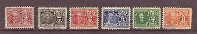 Costa Rica, Leaders, Used, 1934, 1941 - 1945, 1948, OLD