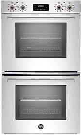 Bertazzoni Professional Series PROFD30XV 30in Double Electric Wall Oven with 2x4.1 cu. ft.