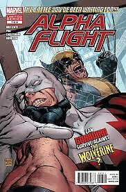 MARVEL ALPHA FLIGHT ISSUE #7  LIMITED SERIES COMIC BOOK