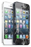 Crack Screen Replacement Service iPhone Samsung iPad Laptop  No
