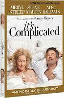 2009 It's Complicated DVD Meryl Streep Steve Martin&Alec Baldwin