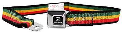 Seatbelt Men Canvas Web Military Honda H Civic Pilot Accord Logo Rasta Quality