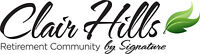 VOLUNTEER POSITIONS AT CLAIR HILLS RETIREMENT COMMUNITY