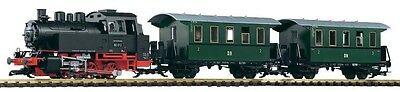 PIKO G 37125 Startset Personenzug BR 80 / inkl. Sound+Dampf Gartenbahn Neu / Ovp