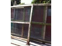 Galvanised weld mesh panels box profile roofing sheets