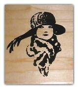 Woman Rubber Stamp