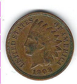 American Penny 1908