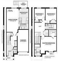 You will be the first user of  brand new townhouse in Ancaster
