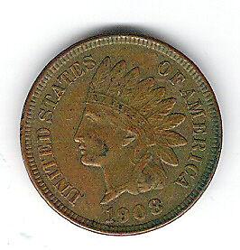 Coin 1908 USA 1 Cent Penny Kingston Kingston Area image 3
