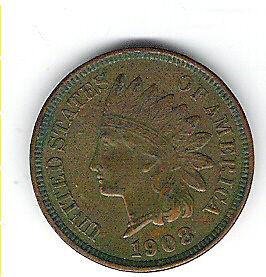 Coin 1908 USA 1 Cent Penny Kingston Kingston Area image 7
