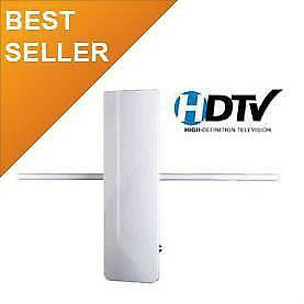 Free 25 to 35 Canadian And US Channels  EagleStar Pro HDTV Indoor / Outdoor Passive TV Antenna (VHF improved) 53-6165v