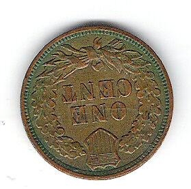 Coin 1909 USA 1 Cent Penny Kingston Kingston Area image 2