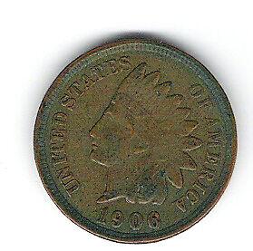 Coin 1906 USA Penny