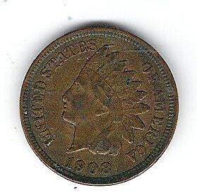 Coin 1908 USA 1 Cent Penny Kingston Kingston Area image 5
