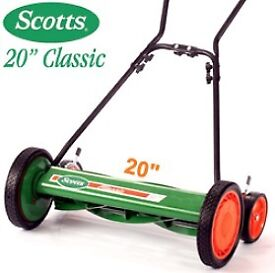 Scotts Classic 20 inch Reel Hand Push Mower Model: 2000-20S, New in Box, Eco-Friendly, Environmental