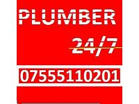 Plumber working all hours 07555110201