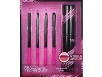 5 x Real Techniques lip brush sets - Bargain!