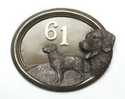 Dog House Number Plaques