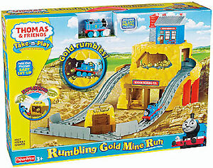 THOMAS & FRIENDS L'AVENTURE DE LA MINE D'OR TAKE N PLAY TRAIN