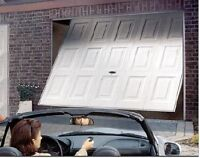 one piece garage door