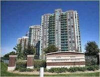 SPACIOUS & BRIGHT 2 BED CONDO - MISSISSAUGA CONDOS FOR LEASE