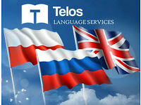 Professional Polish and Russian private tuition