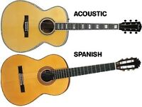 Acoustic or Spanish Guitar for charitable purpose