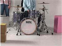 Natal Ash Jazz Drum Kit