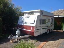 2001 Olympic Hitch Hika 15ft Pop Top Caravan -Brilliant Condition Whyalla Norrie Whyalla Area Preview