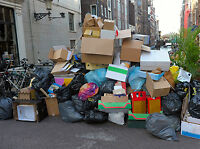 Cheapest Rubbish Removal, Any Waste, Junk 30$ and up 2506169494