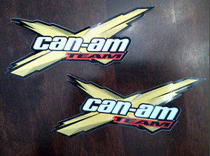 4 Team Can-Am Bombardier sticker BRP