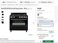 Bush Duel Fuel Range Cooker