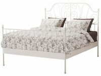 IKEA LEIRVIK double bed, complete