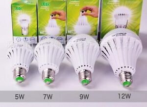 new too market......led light bulb  recharable battery