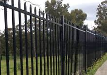 Black security fence spear top fence panels Arndell Park Blacktown Area Preview