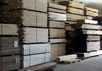 Plancher de bois franc Canadien brut 2 1/4, 3 1/4, 4 1/4, 5 po