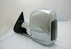 Chrome Towing Mirror Pair Silverado/Sierra/Tahoe/Suburban/Yukon London Ontario image 3