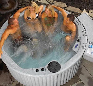 Hot tubs for rent. $250 a week or $475 a month.