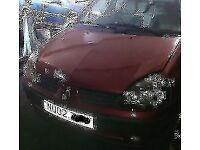 Renault Clio Bonnet In Maroon (2002)